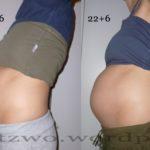 Bauchbilder 6. Schwangerschaftsmonat | Kind 2