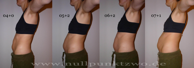 schwangerschaftsbauch 2 monat