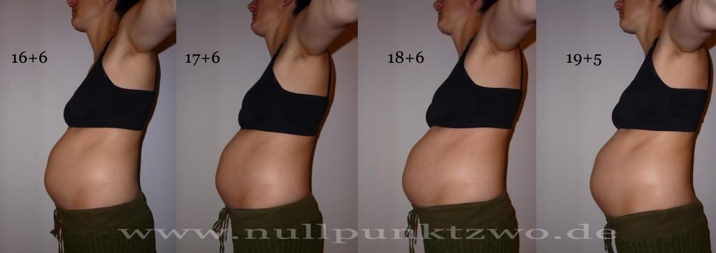 Babybauch 5. Schwangerschaftsmonat - Kind 3