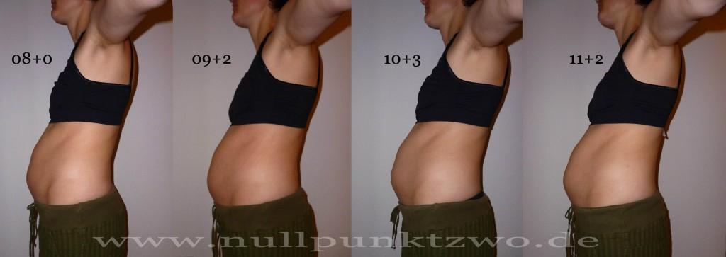 Babybauch 3. Schwangerschaftsmonat