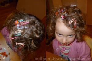 Haarklammern