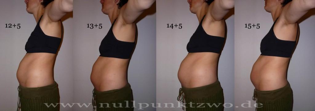 Babybauch 4. Schwangerschaftsmonat - Kind 3