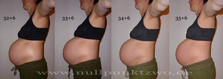 Babybauch 9. Schwangerschaftsmonat | Kind 3