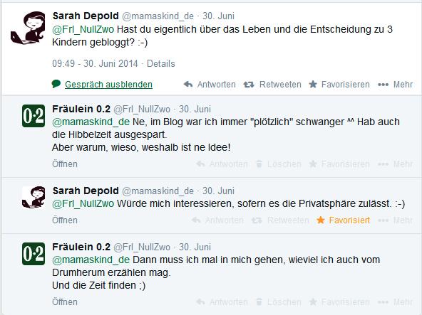 Frage von Sarah @mamaskind_de