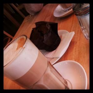 Kaffeepause in der Stadt