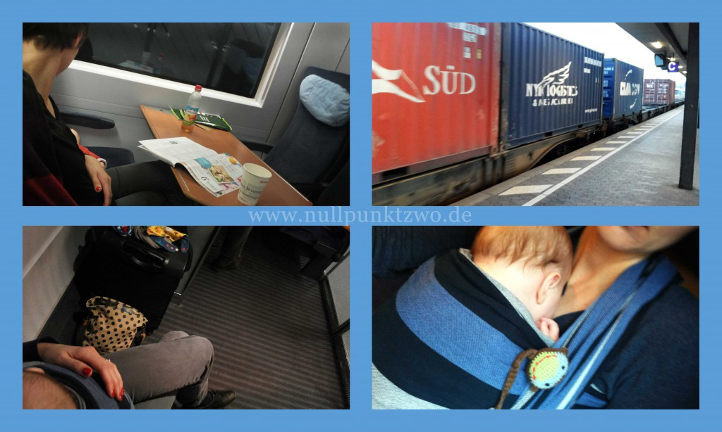Zugfahrt mit Baby