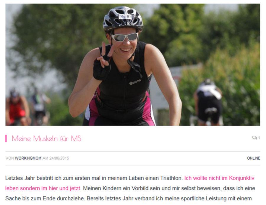 Screenshot vom Blog MeWorkingMom