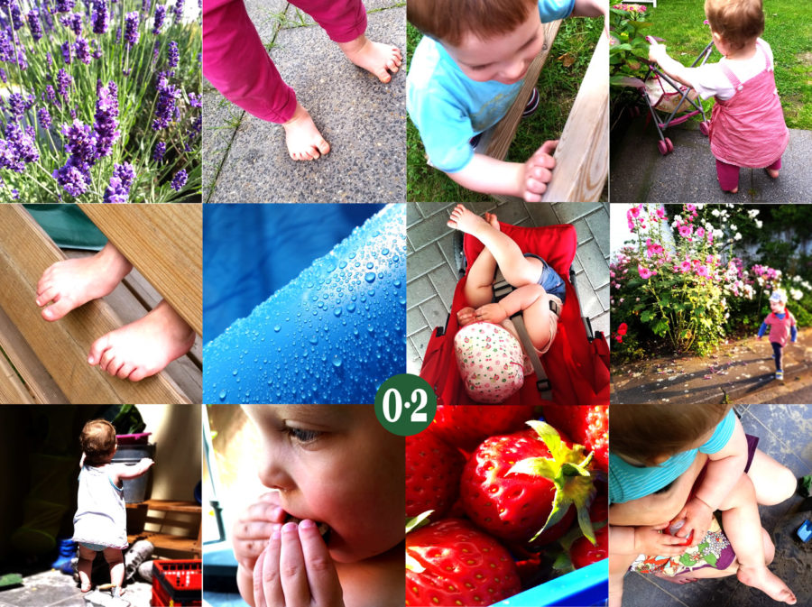 Sommercollage