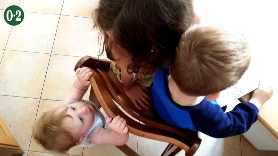 Drei Kinder - drei Geschwister