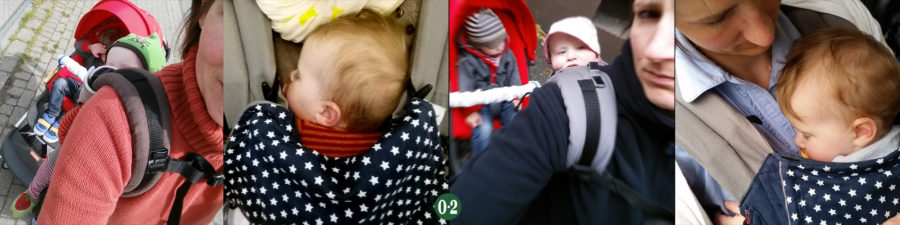 Mit 2 Kindern unter 3 Jahren unterwegs