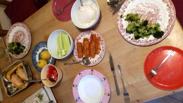 Abendessenroutine