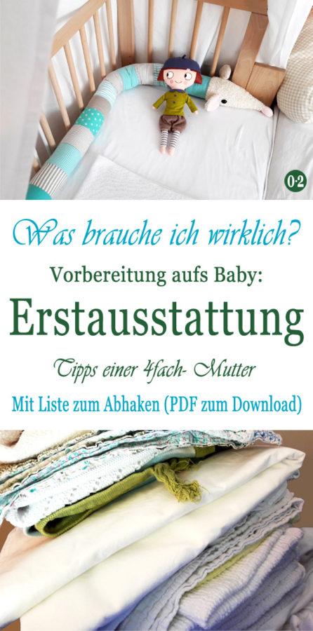 Vorbereitung aufs Baby - meine Erstausstattung und ToDos vor der Geburt