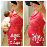 2 Tage nach der Geburt | Kind 4