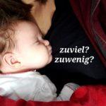 Zuwenig und zuviel – Schlaf und Milch