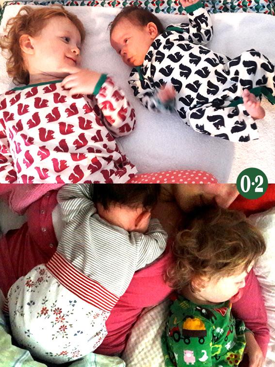 Familienleben Schwesternliebe