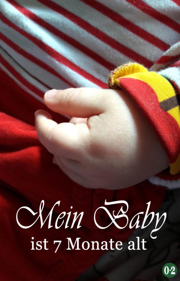 Mein Baby ist schon 7 Monate alt