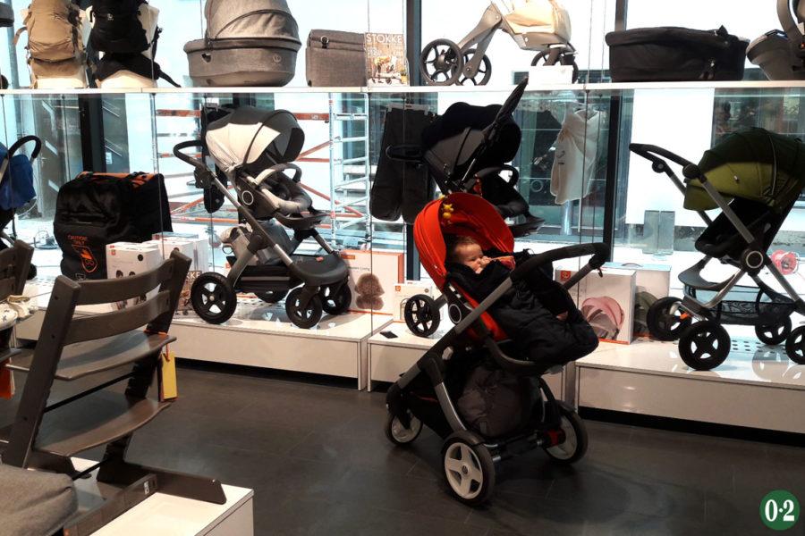 Die FamilienBande in Köln verkauft nicht nur Produkte von Stokke