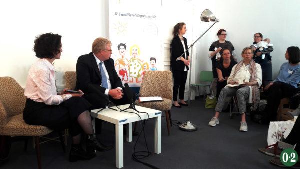 Fragen zur Familienpolitik von Bloggern & über Twitter