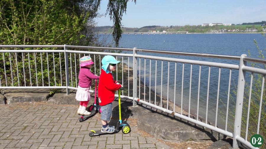Aussichtspunkt am Möhnesee