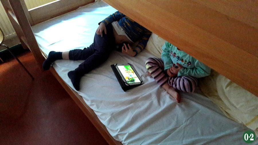 Mit Kindern in der DJH am Möhnesee
