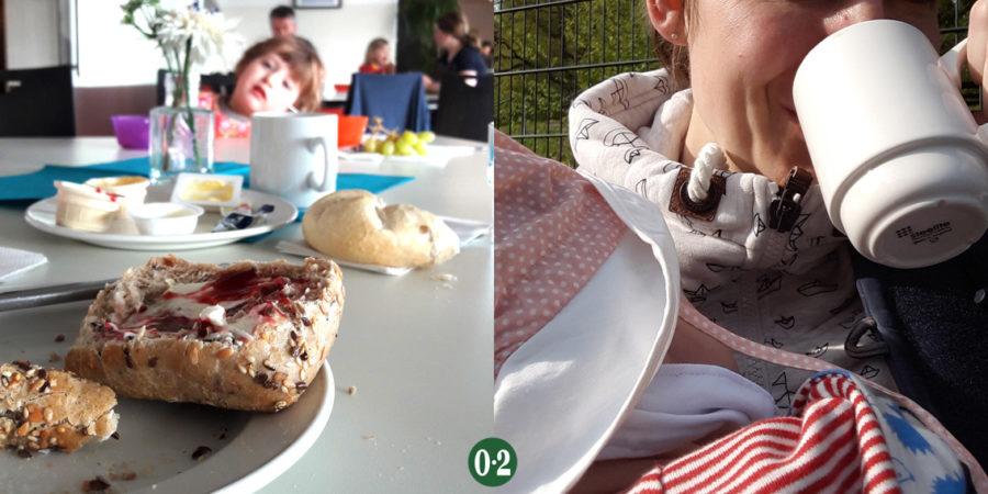Frühstück in der DJH am Möhnesee
