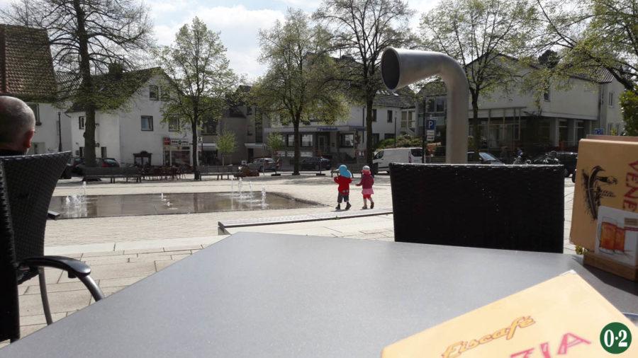 Dorfplatz in Körbecke