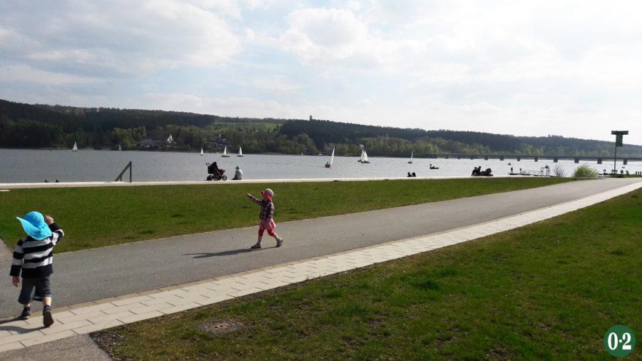 Möhnesee- Ufer in Körbecke