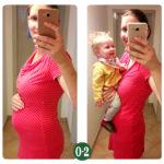 9 Monate nach der Geburt – Was war, was kommt, was geht? {Mit Bauchbildern}