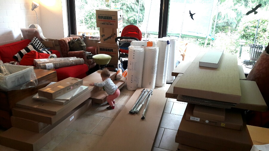 Die große Ikea-Lieferung