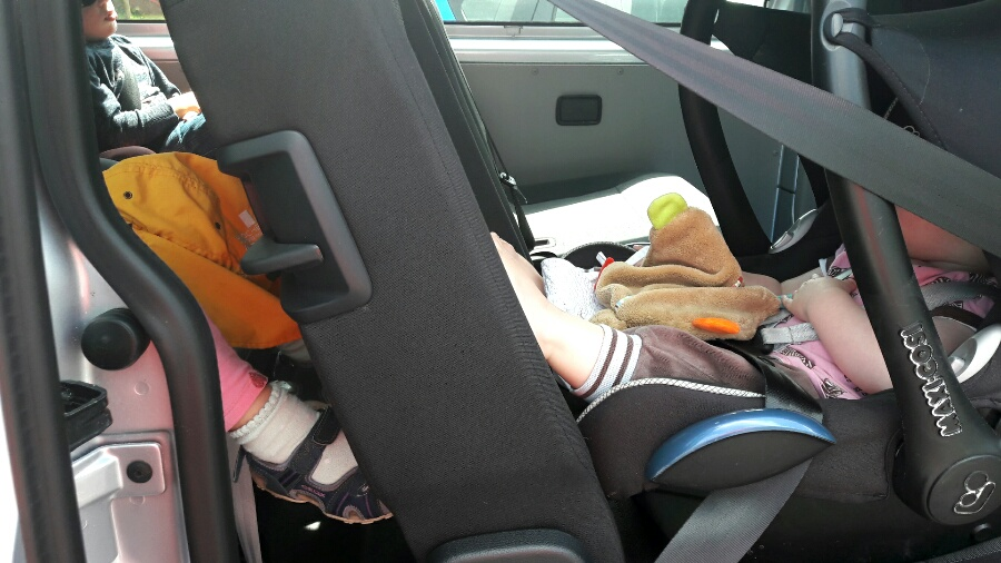 Im Familienauto ist endlich Platz!