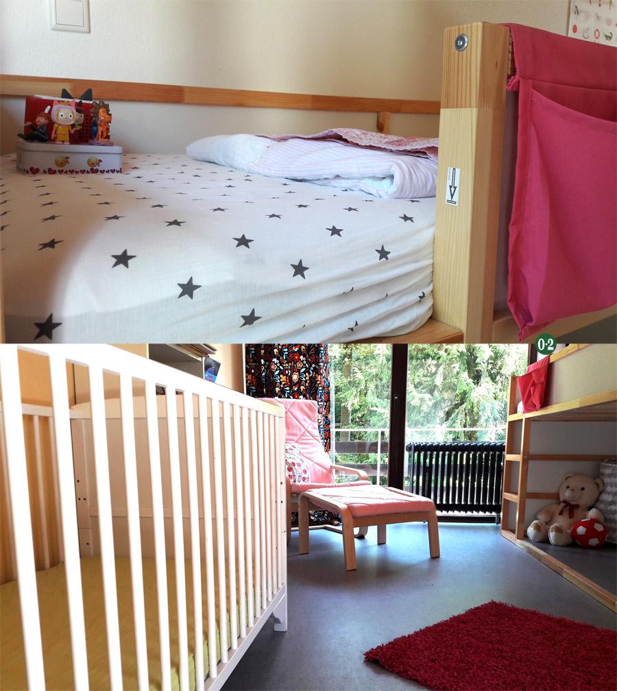 bau logbuch eintrag 10 sanierung kinderzimmer f r zwei m dchen nullpunktzwo. Black Bedroom Furniture Sets. Home Design Ideas
