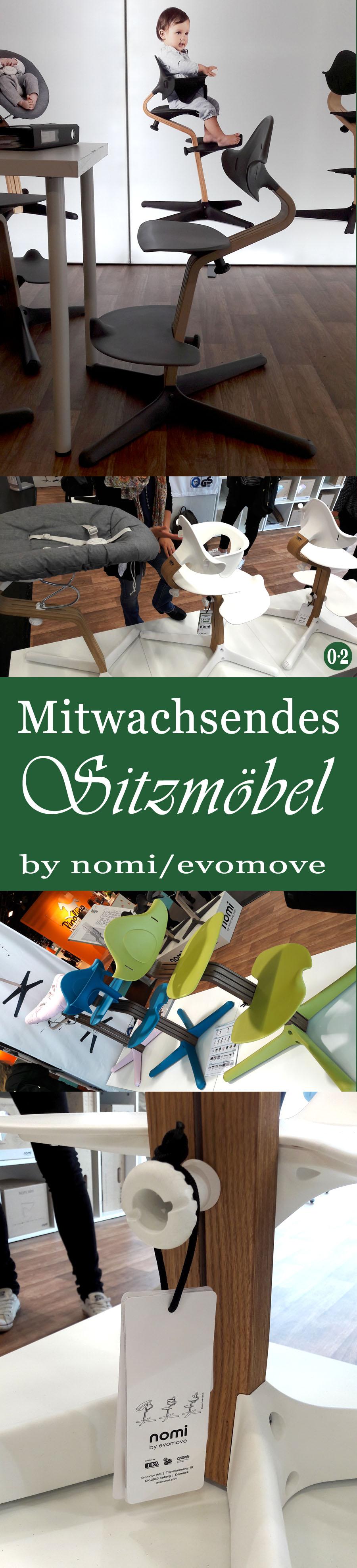 Mit Kindern zuhause & unterwegs -Trends 2018: Funktionalität und Individualität beim Stuhl Nomi von Evomove | www.nullpunktzwo.de
