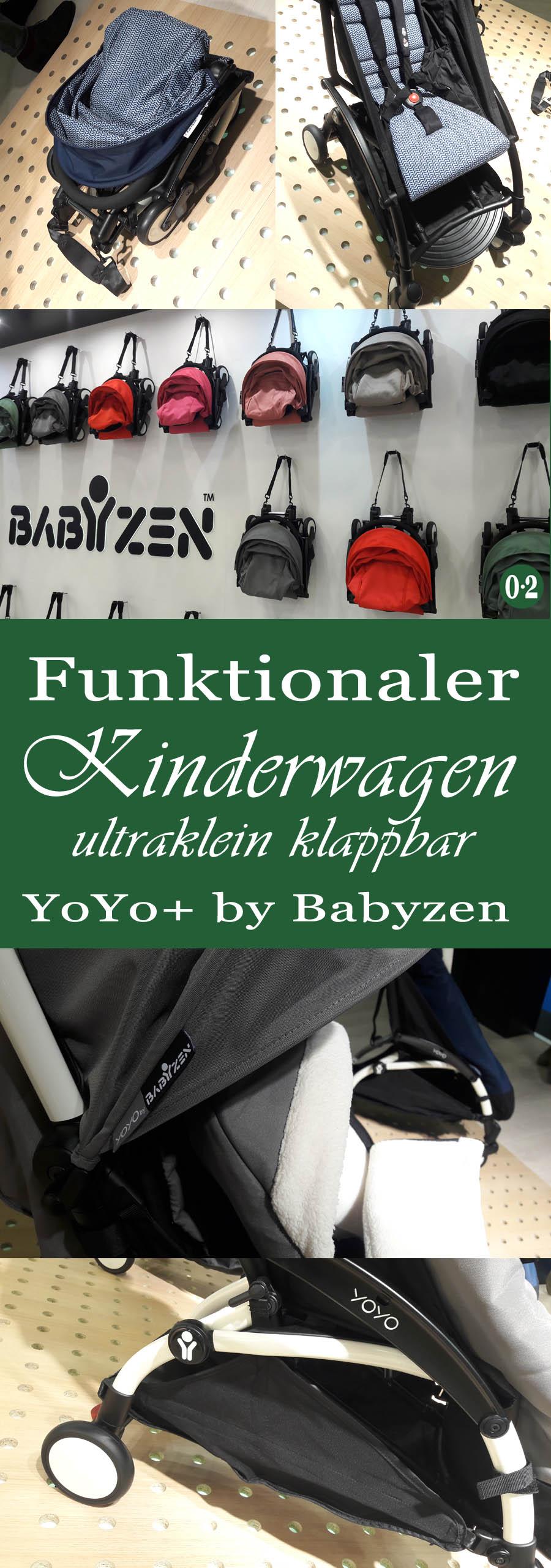 Mit Kindern zuhause & unterwegs -Trends 2018: Funktionalität bei YoYo+von Babyzen | www.nullpunktzwo.de