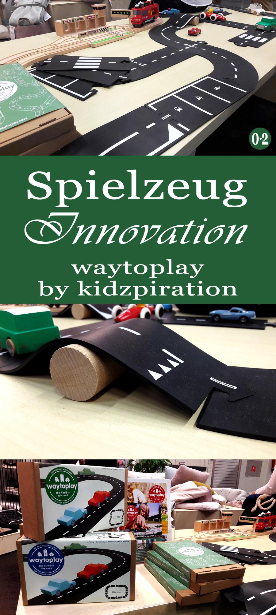 Kinderzimmertrends 2018: Ultra flexible Spielstrasse zum Zusammenstecken von waytoplay | www.nullpunktzwo.de