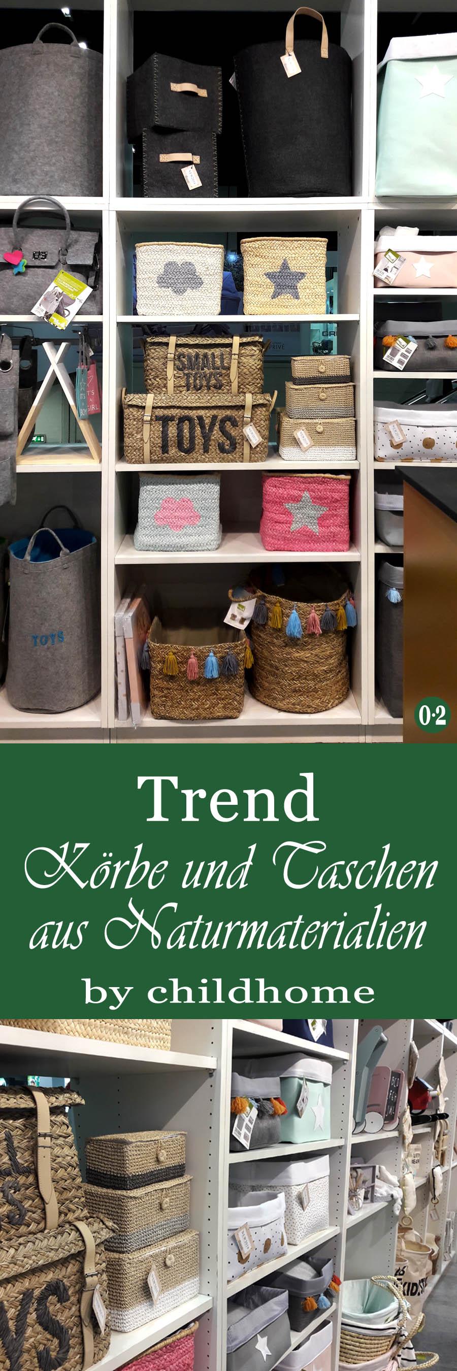 Kinderzimmertrends 2018: Körbe und Taschen aus Naturmaterialien zur Aufbewahrung | www.nullpunktzwo.de