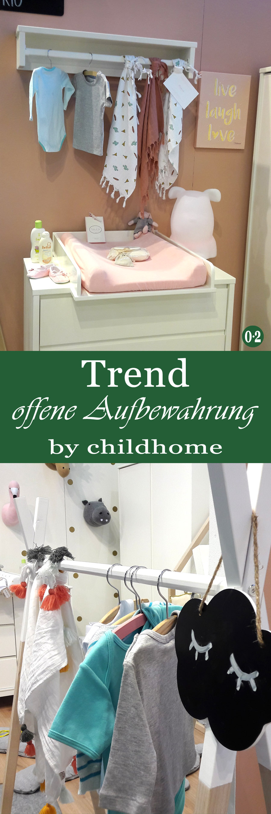 Kinderzimmertrends 2018: Offene Aufbewahrung und kalkige Farben im Kinderzimmer | www.nullpunktzwo.de