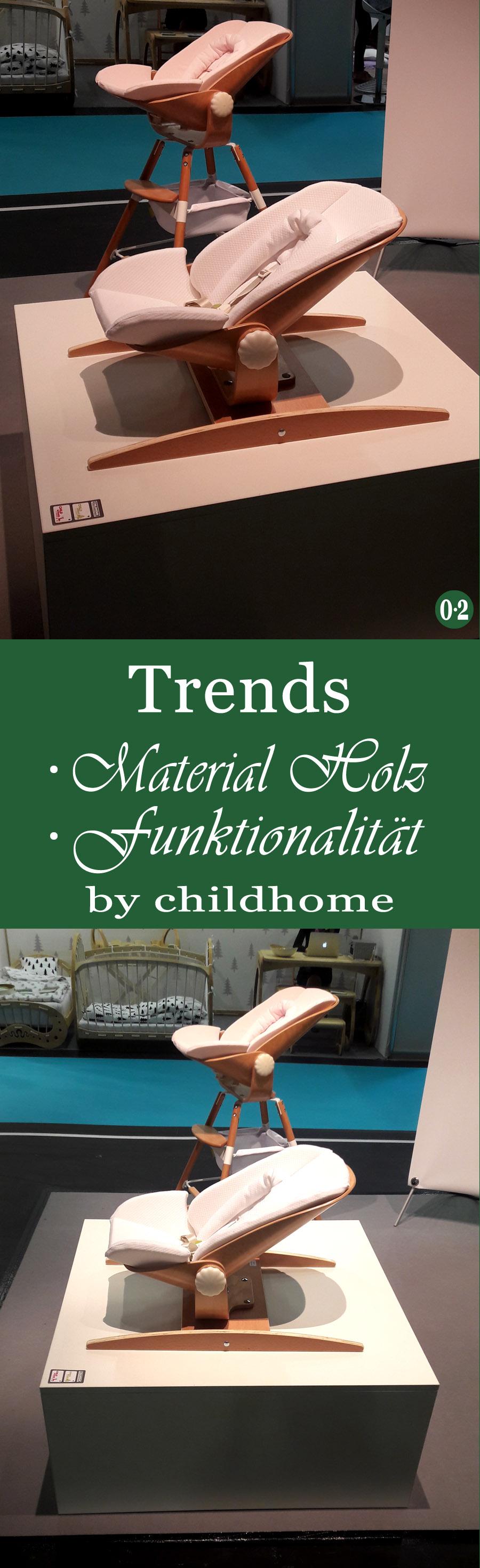 Mit Kindern zuhause & unterwegs -Trends 2018: Natürliche Materialien und Funktionalität bei Childhome | www.nullpunktzwo.de