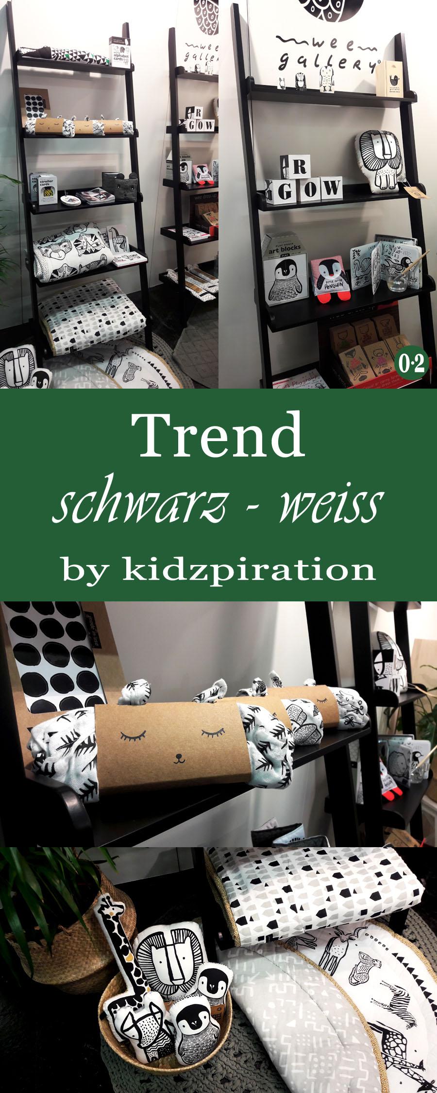 Kinderzimmertrends 2018: Schwarz/weiss und grafische Muster für Kindertextilien, Spielzeug und Accessoires| www.nullpunktzwo.de