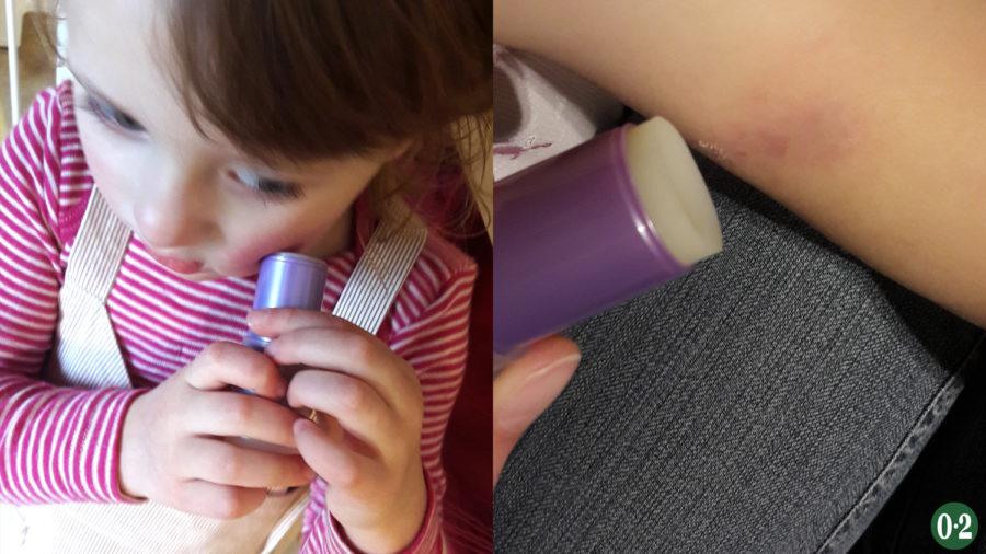Kinderleichte Anwendung des Sticks