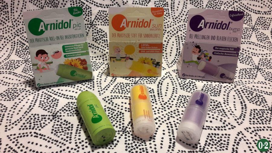 Verlosung von Arnidol® sticks