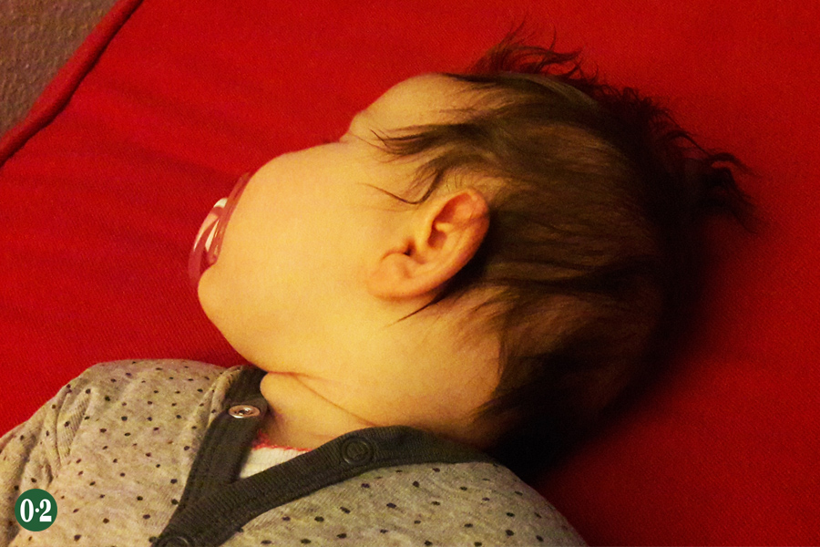 4 Monate alte Jüngste