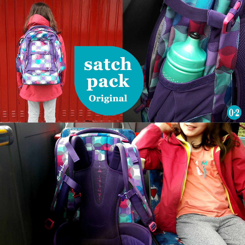 Der Schulrucksack satch pack original - hurly pearly