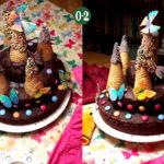 Schmetterlingskuchen – pompös schokoladig!