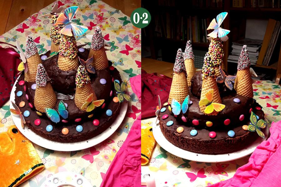Schmetterlingskuchen Pompös Schokoladig Nullpunktzwo