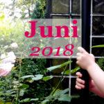 Im letzten Monat | Juni 2018
