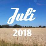 Im letzten Monat | Juli 2018