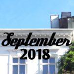 Im letzten Monat | September 2018