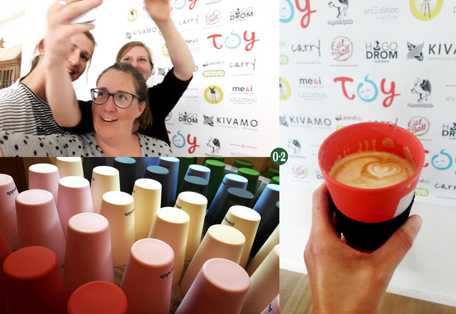 Kaffeebecher von Pandoo und Kaffee von Kivamo