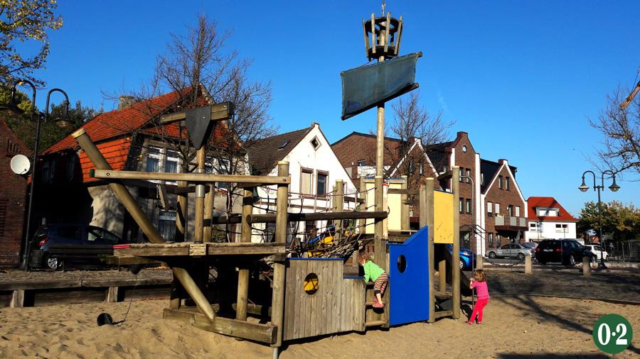 Spielplatz Schlachte in Jever