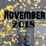 Im letzten Monat | November 2018